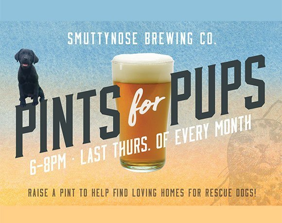 Pints for Pups at Smuttynose