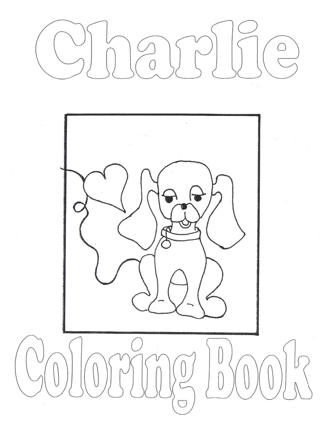 CHARLIE Coloring Book